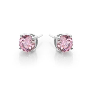 Rose Solitaire Studs