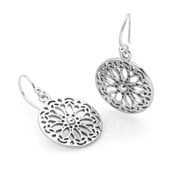 Daisy Mandala Earrings
