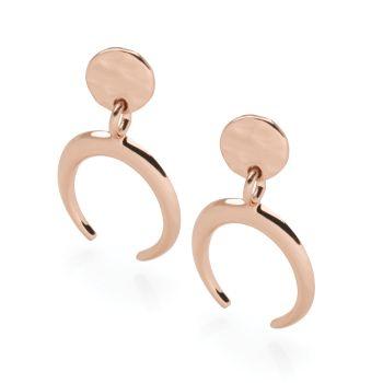 Sun Horn Earrings
