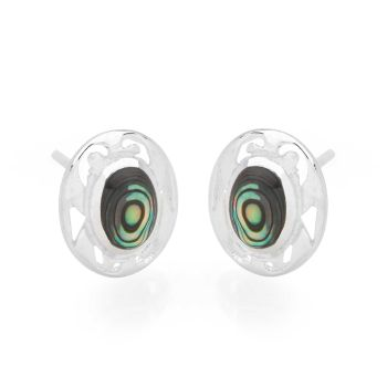 Abalone Mirror Studs