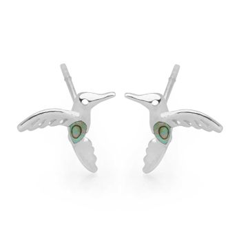 Mystical Hummingbird Studs