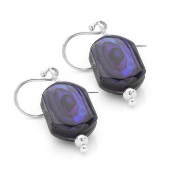 Shimmering Violet Earrings