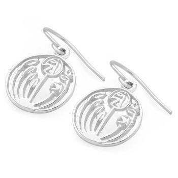 Mackintosh Rose Earrings