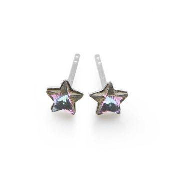 Star Studs (Lilac/Blue)