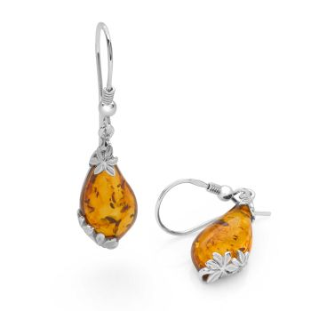 Amber Folly Earrings