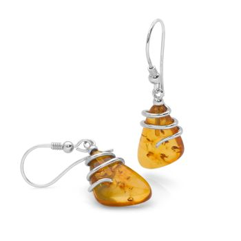 Amber Aura Earrings