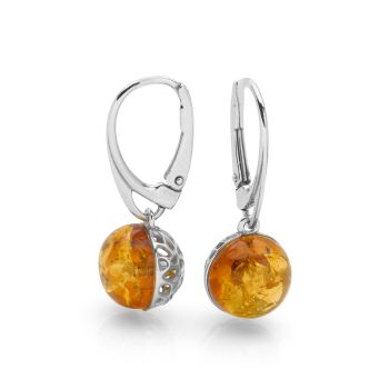 Flame Orb Earrings