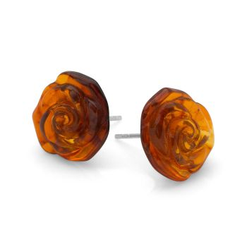 Rose Ember Earrings