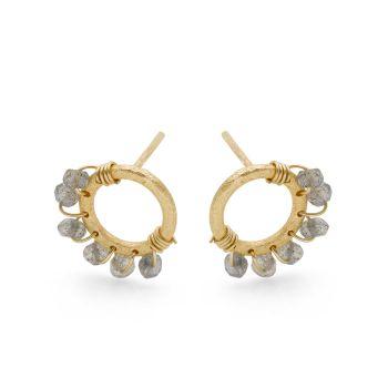 Charmed Wheel Earrings