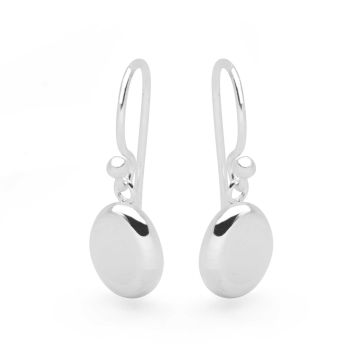 Silver Seed Earrings