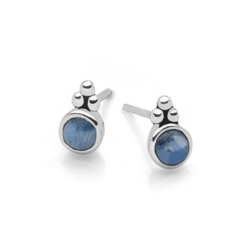 Kyanite Moon Studs