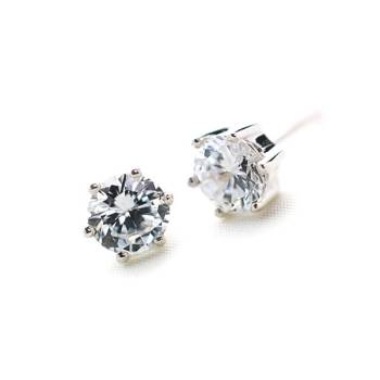 Le Stud Earrings 4mm
