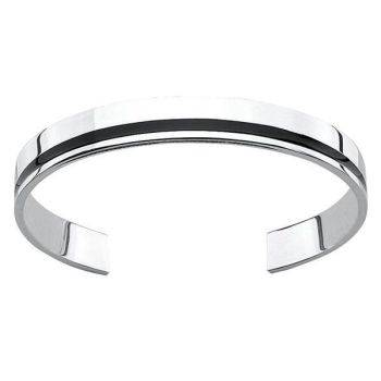 Resin Stripe Bangle