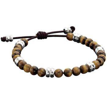 Tiger's Eye Bead Bracelet