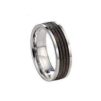 Textured Steel Ring