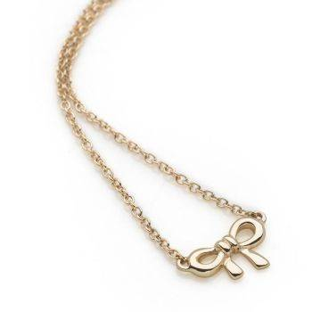 Ditsy Bow Chain (9ct Gold)