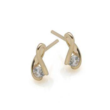 Pharaoh's Gold Studs (9ct Gold)