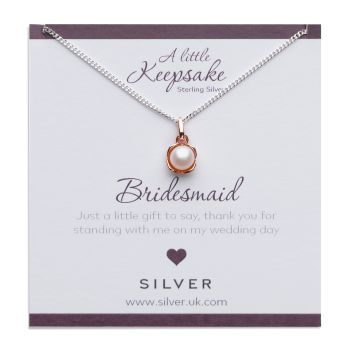 Bridesmaid Gift Pearl