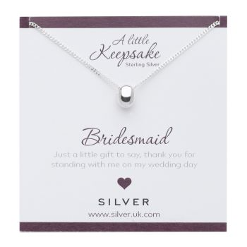 Bridesmaid Gift Pendant