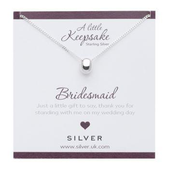 Bridesmaid Gift Pendant