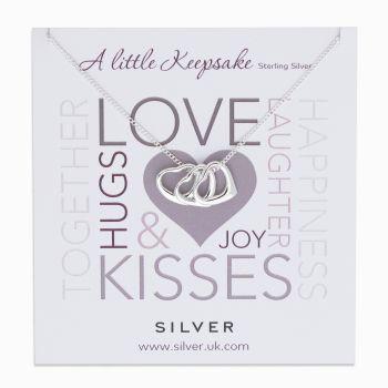 Love, Hugs & Kisses Chain