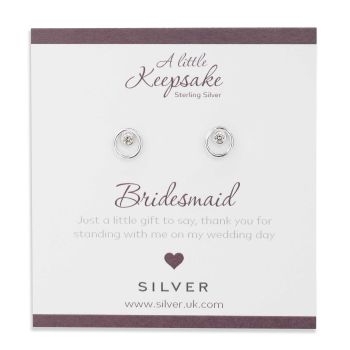 Sparkling Bridesmaid Earrings