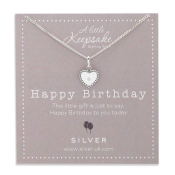 Shining Birthday Keepsake