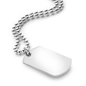 I.D. Tag Pendant (45cm 2.2mm Chain)