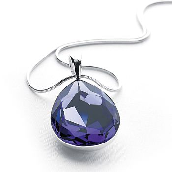 Crystal Tears Pendant (Tanzanite)