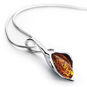 Lily Amber Pendant