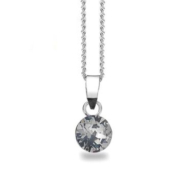 Swarovski Black Diamond, Chaton Pendant