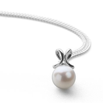 Ornate Pearl Pendant