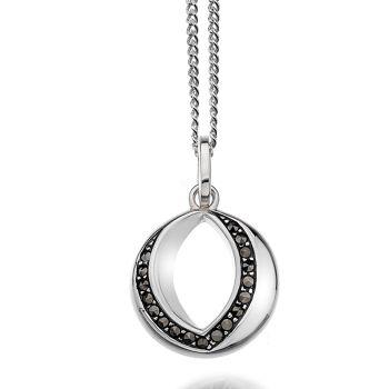 Silver Eclipse Pendant