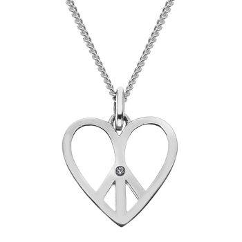 Love and Peace Pendant
