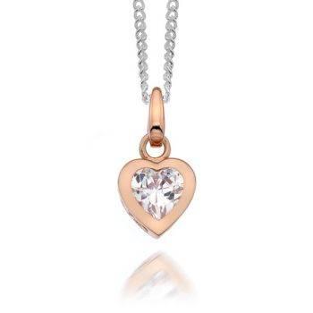 Rosa Heart Pendant