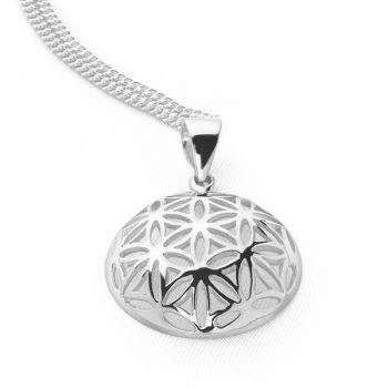 Domed Circle of Life Pendant