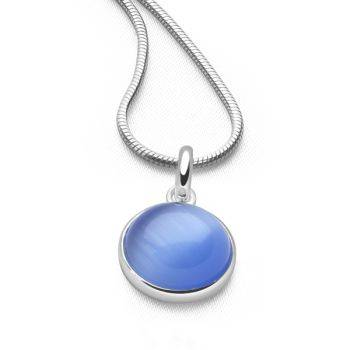 Radiance Pendant (Blue Cat's Eye)