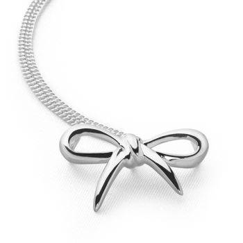 Ballet Bow Pendant