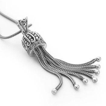 Imperial Majesty Pendant (45-50cm oxidised chain)