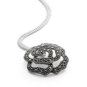 Midnight Rose Pendant