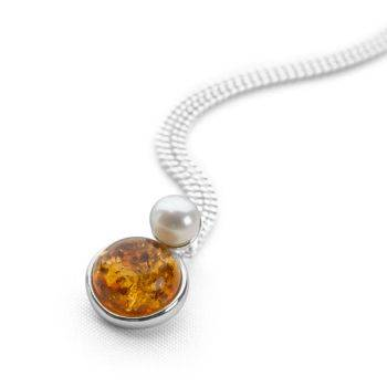 Amber Seas Pendant
