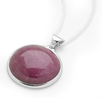 Ruby Moon Pendant