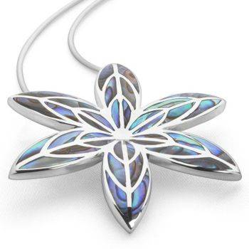 Passion Flower Pendant (Large)