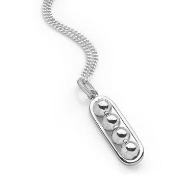 Silver Carousel Pendant