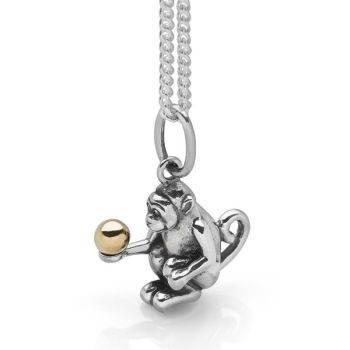 Monkey Puzzle Pendant