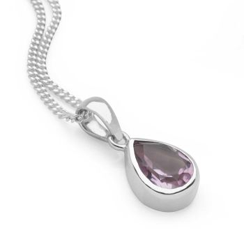 Lilac Drop Pendant