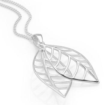 Sarissa Leaf Pendant