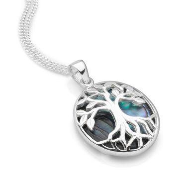 Tree of Life Pendant (Oval)