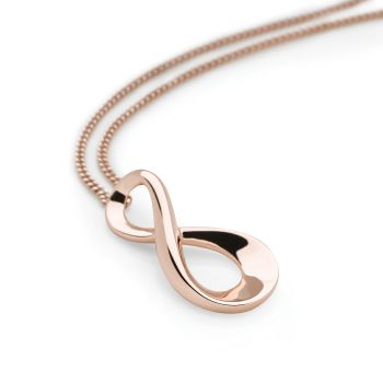 Always Pendant (Rose Gold Plate)