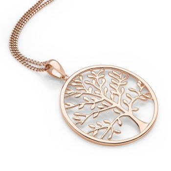 Sunset Tree of Life Pendant